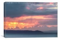 Sunrise at Rame Peninsula , Canvas Print