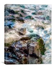 Cornish Sea, Canvas Print