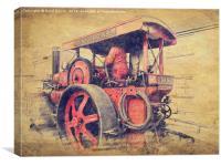 The Dingle, Canvas Print