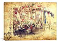 All The Fun Of The Fair, Canvas Print