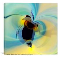 Burglar Bee, Canvas Print