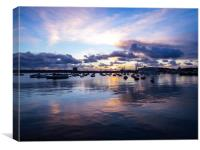 Falmouth Harbour , Canvas Print