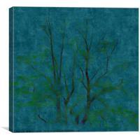 The Winter Tree, Canvas Print