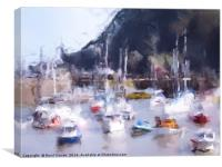 Ilfracombe Harbour , Canvas Print