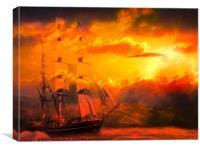 Fantasy Voyage , Canvas Print