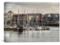 Littlehampton , Canvas Print