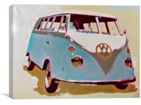 Campervan, Canvas Print