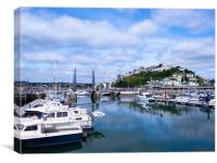 Torquay Splendour., Canvas Print