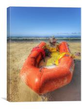 A life guards view , Canvas Print