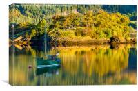 Loch Leven, Glencoe, Scotland. , Canvas Print