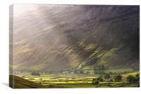 Wasdale Head. English Lake District., Canvas Print