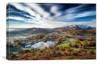 Loughrigg timeless. Lake District., Canvas Print