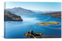 Eilean Donan Castle, Scotland , Canvas Print