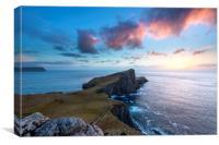 Neist Point sunset, Isle of Sky.  , Canvas Print