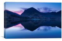 Buttermere dawn , Canvas Print