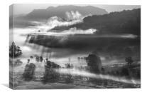 Little Shadows, Lake District , Canvas Print