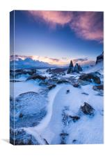 Winter on the Storr. Isle of Skye., Canvas Print