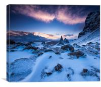 The Old Man of Storr. Isle of Skye. , Canvas Print