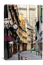 London street, Canvas Print