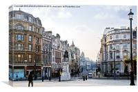 Charing Cross in London, Canvas Print