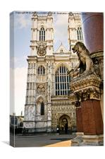 Westminster Abbey, Canvas Print
