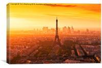 PARIS 14, Canvas Print