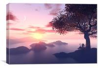 Beautiful  landscape, Canvas Print