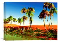 African oasis