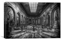 Certosa di Bologna, Canvas Print