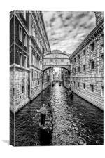 Ponte dei Sospiri, Venezia, Canvas Print