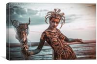 Body Painting, Canvas Print