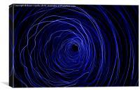 The Black Hole, Canvas Print