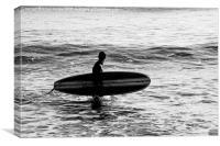 Cornwall Surf, Canvas Print