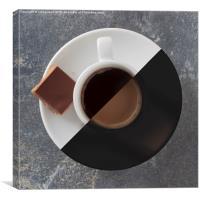 Latte or Espresso?, Canvas Print