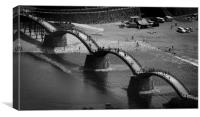 Kintai Bridge, Iwakuni, Canvas Print