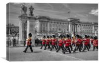 Changing of the Guard, Canvas Print