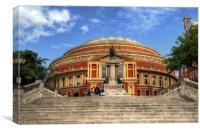 The Royal Albert Hall, Canvas Print