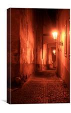 Jack the Ripper..., Canvas Print