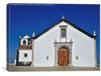 Church of Cacela Velha in Portugal , Canvas Print