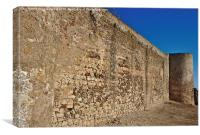 Oldest Castle of Castro Marim , Canvas Print