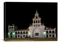 Church of the Virgen Del Rocio and Carriage. Spain, Canvas Print