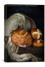 Bread, Canvas Print