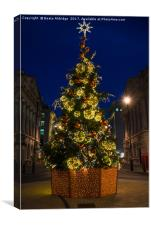 Christmas tree, Canvas Print
