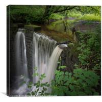 High Dam Falls, Canvas Print