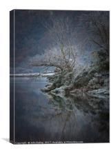 Frozen, Canvas Print