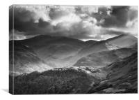 Borrrowdale, Canvas Print