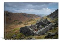 Copper Mines , Canvas Print