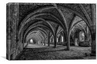 Fountains Abbey, Canvas Print
