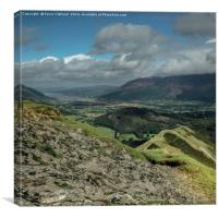 View from Catbells, Canvas Print
