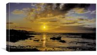 Sunrise over Gansbaai, Canvas Print